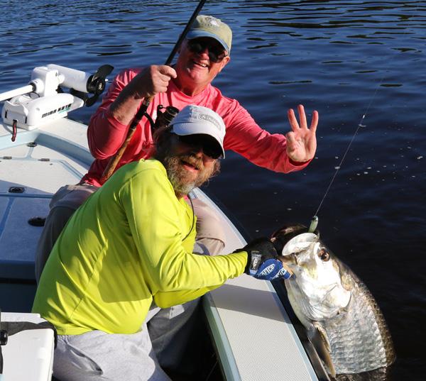 Boca Grande tarpon fishing 1