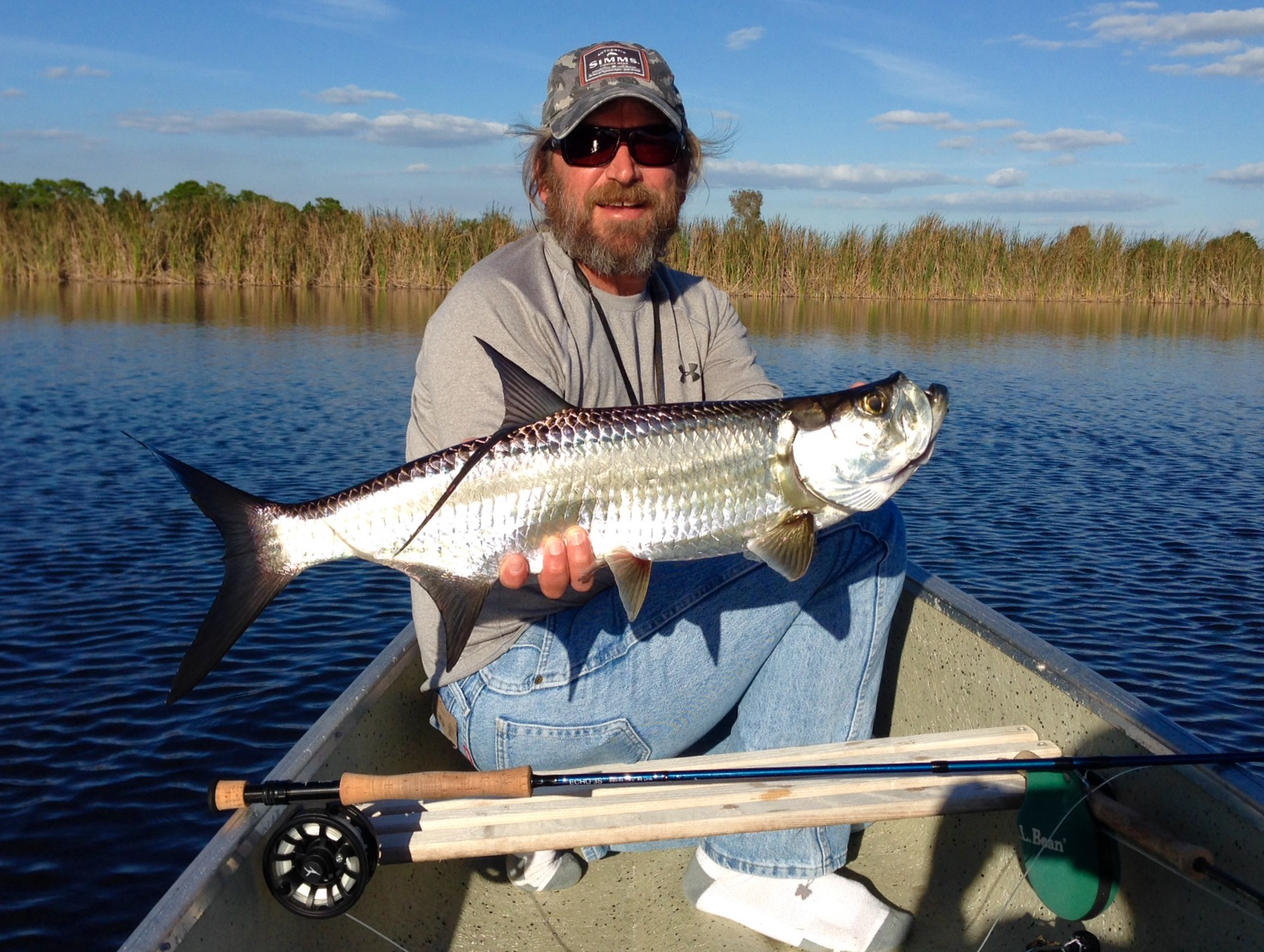 Canoepoon3 for Florida tarpon fishing