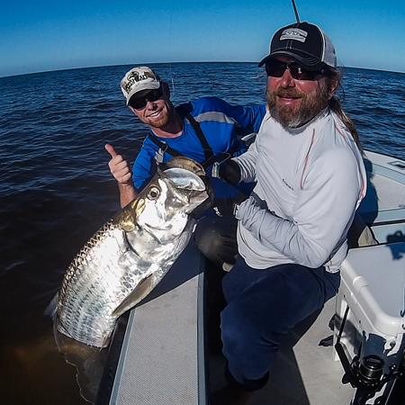 Everglades tarpon fishing with Captain Mark Bennett