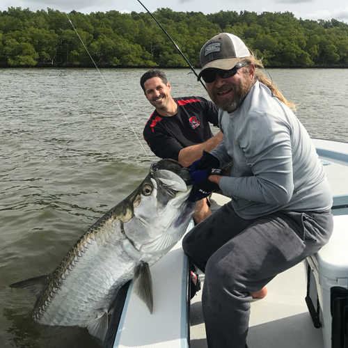 Fort myers fishing report march 21st 2017 for Florida tarpon fishing